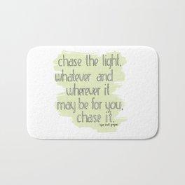 CHASE THE LIGHT Bath Mat