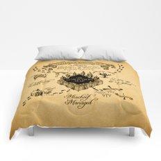Marauders Map Comforters