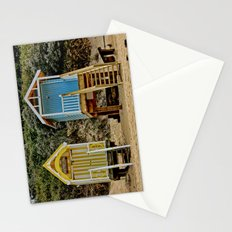Norfolk Beach Huts  Stationery Cards