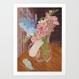 Morpeth Flowers Art Print