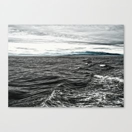 Sea of Tar Canvas Print