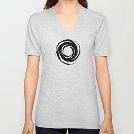 Apostate Symbol-Black-Chaotic Unisex V-Neck