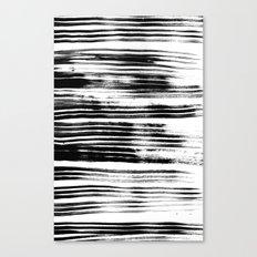 Textured Stripes Canvas Print