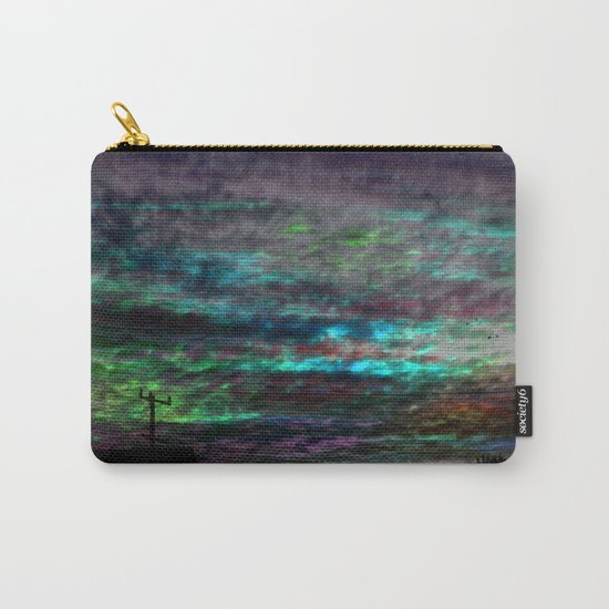 WaterColor SunSet Carry-All Pouch