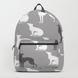 Greyhound Dogs Pattern Backpack