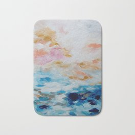 Golden Sunrise Bath Mat