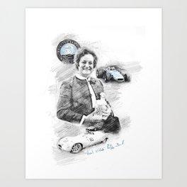 Patsy Burt Art Print