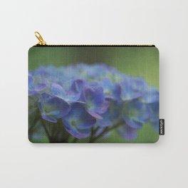 Purple Hydrangea Carry-All Pouch