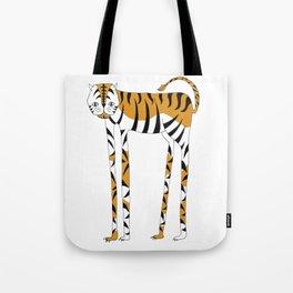 Long legs Tiger Tote Bag