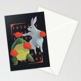 Tortoise & Hare   RED Stationery Cards