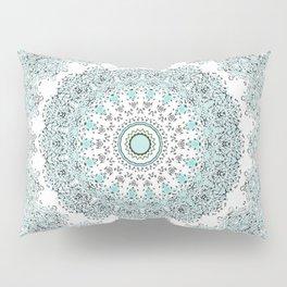 Mandala - Boho - Sacred Geometry - Pastels - Pillow Sham