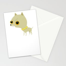 Angry cute chihuahua Stationery Cards