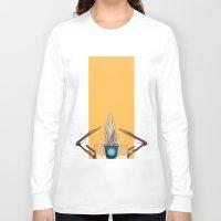 borderlands Long Sleeve T-shirts featuring Borderlands - CL4P-TP by BEN Olive