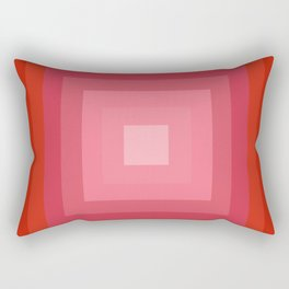 Let's Boogie - abstract 70s retro art 1970s style vintage colors Rectangular Pillow
