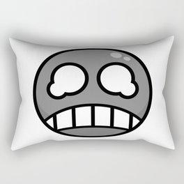 Scared Gray! Rectangular Pillow