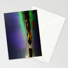 Shooting Star Aurora at Lanes Cove Stationery Cards