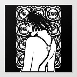 Harness Girl Canvas Print