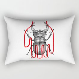 Beetlemaniac Rectangular Pillow