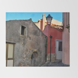 Sicilian Medieval Village (The Godfather/ Francis Ford Coppola/1971) Throw Blanket