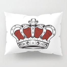 Crown - Red Pillow Sham