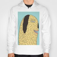 the dude Hoodies featuring Dude by MALKERM