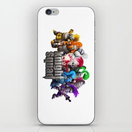 Knight Squad team iPhone Skin
