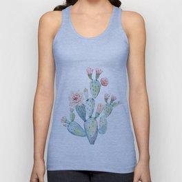 Cactus 2  White #society6 #buyart Unisex Tank Top