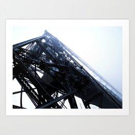 Foggy Lift #1 Art Print