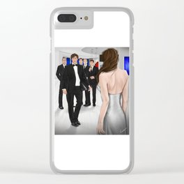 grand entrance Clear iPhone Case