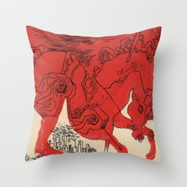 Catcher Throw Pillow