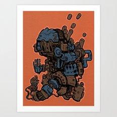 Fistacuffs! Art Print