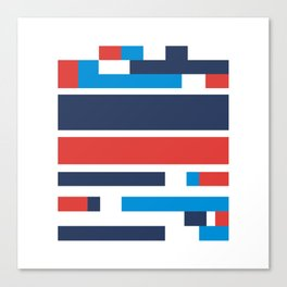 Colorblock Canvas Print