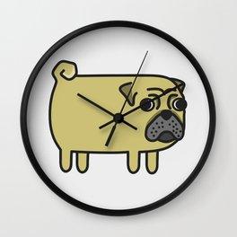 1# I like big pugs Wall Clock