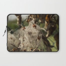 Bushes with starseeds surrounded with white aura Laptop Sleeve