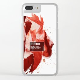 Gryffindor Nature Clear iPhone Case
