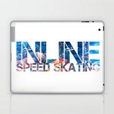 Inline Speed Skating Laptop & iPad Skin