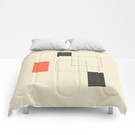 Geometric Abstract Art Comforters