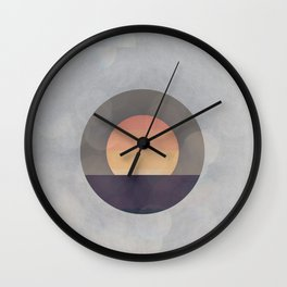 Sun Drenched Wall Clock