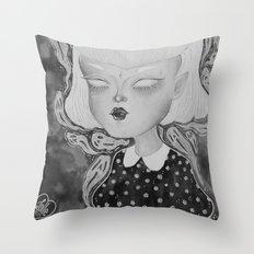 Ghoulie Throw Pillow
