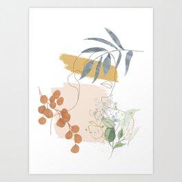 Line in Nature II Art Print
