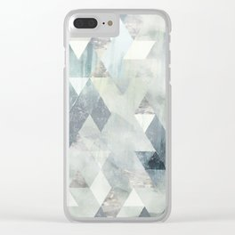 Cold Wind Clear iPhone Case