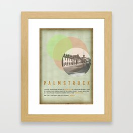 Palmstruck Framed Art Print