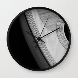 Mandolin Portrait 1 Wall Clock