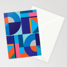 Geometric Colorfull Pattern II Stationery Cards