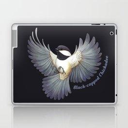 Black-capped Chickadee Laptop & iPad Skin