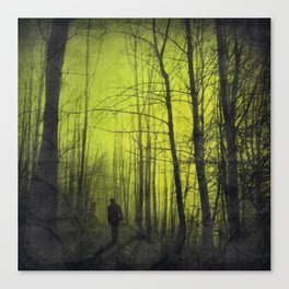 scene from a nightmare Canvas Print