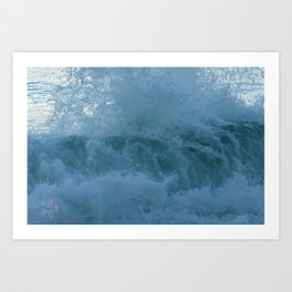 Crashing Waves Up Close by Aloha Kea Photography Art Print