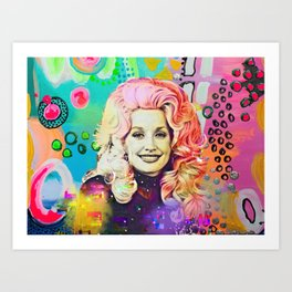 An Abstract Queen Art Print