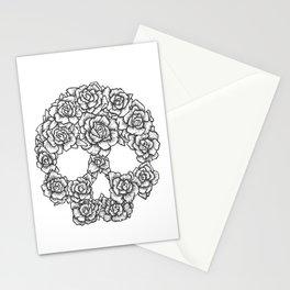 Skull of Roses Stationery Cards