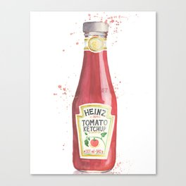 Can you Ketchup? Canvas Print
